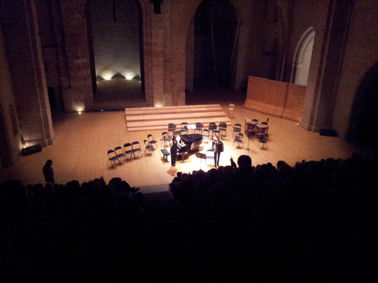 Auditorium Saint-Pierre-des-Cuisines, Toulouse, septembre 2012