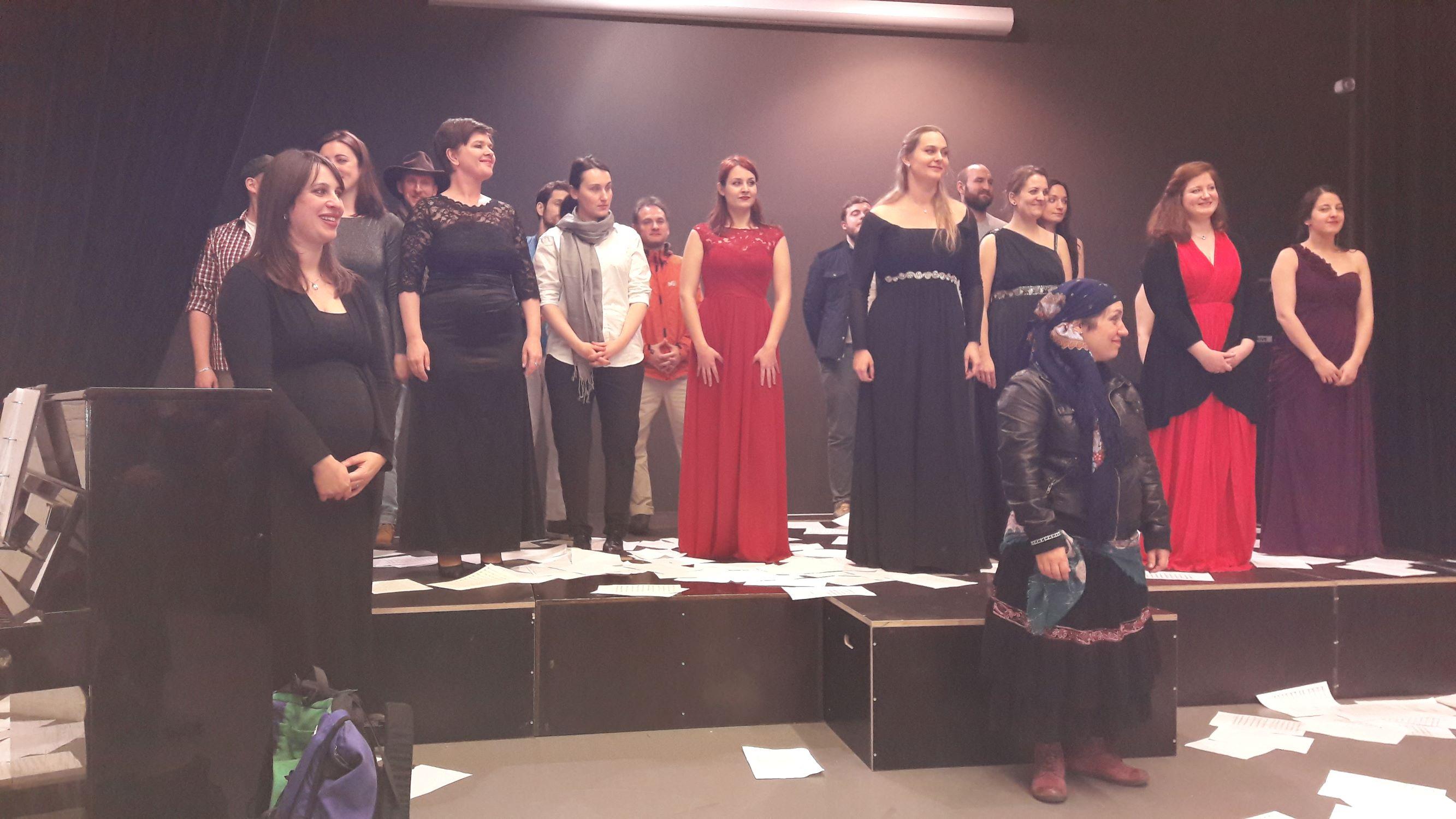 Le mystère de Lorelei, Toulouse, salle San Subra, janvier 2017