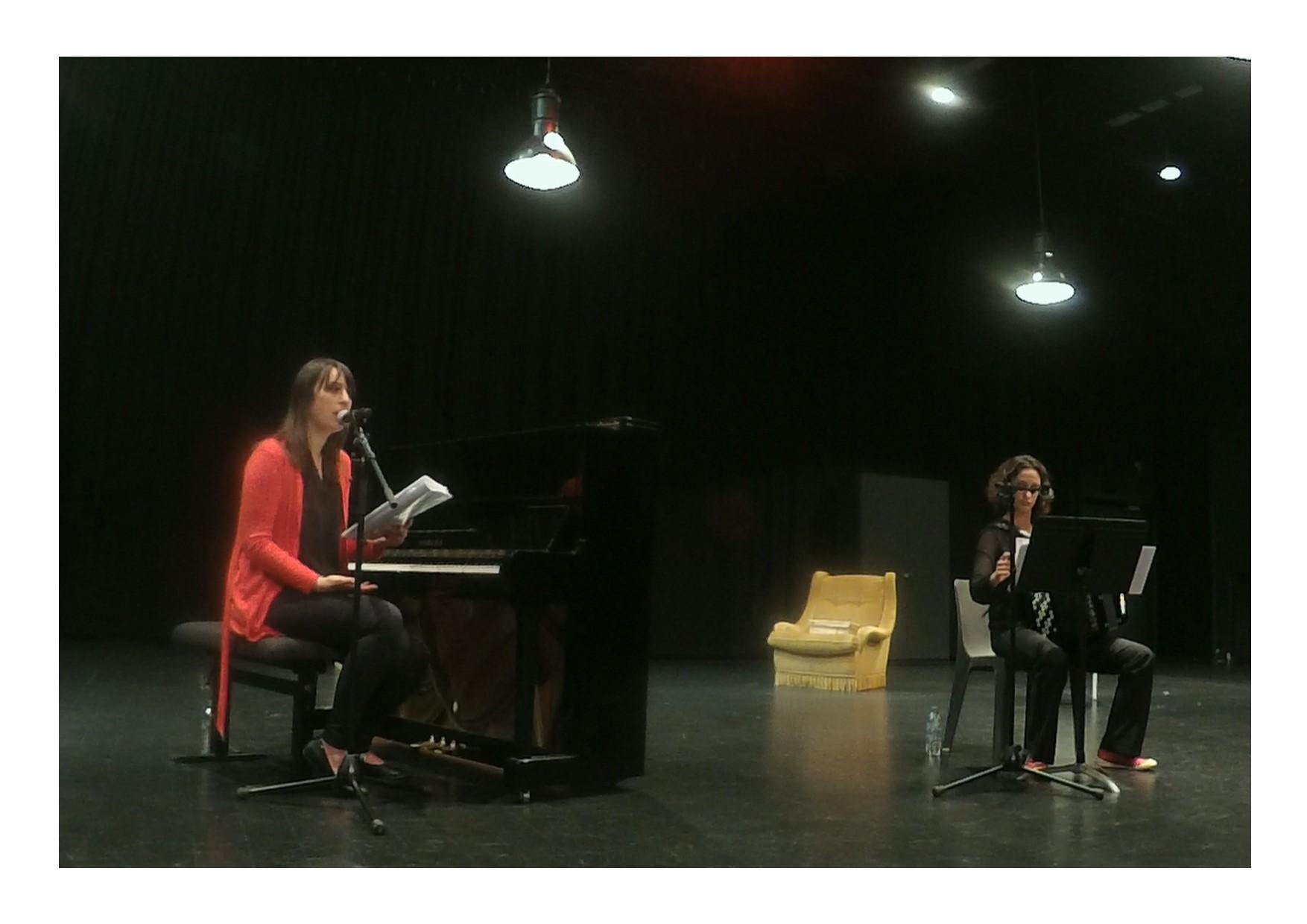 Dans le salon d'Anna de Noailles, L'Escale à Tournefeuille (31), octobre 2017