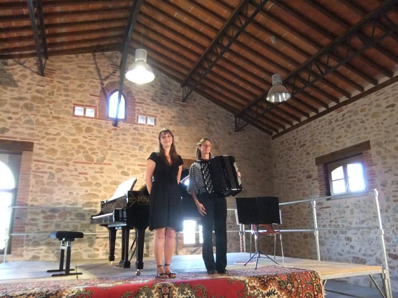 Festival Amusikenvignes, Chateau de Las Fonts, Calce (66), juillet 2013