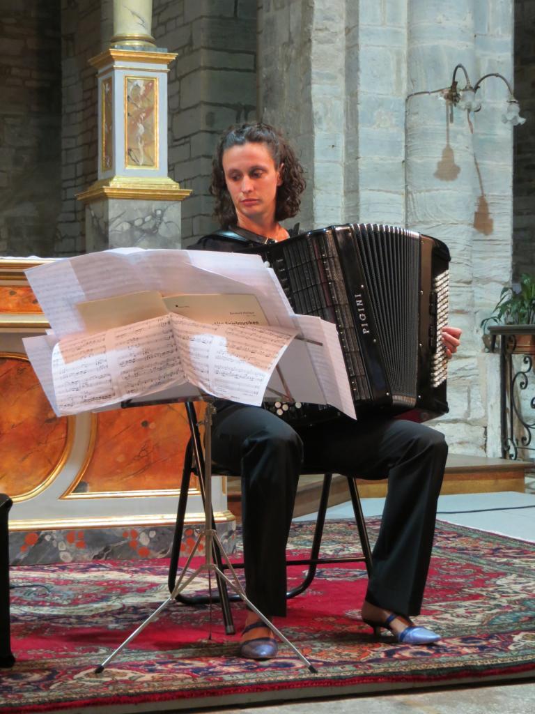 Abbatiale de Montsalvy (15), août 2015