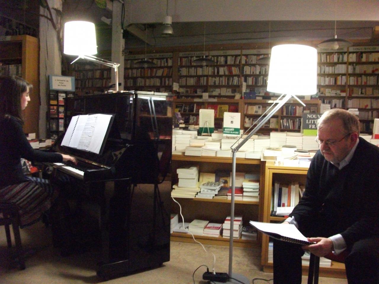 Les pas de l'ombre, de J-Y Laurichesse, Librairie Ombres Blanches, Toulouse, janvier 2011