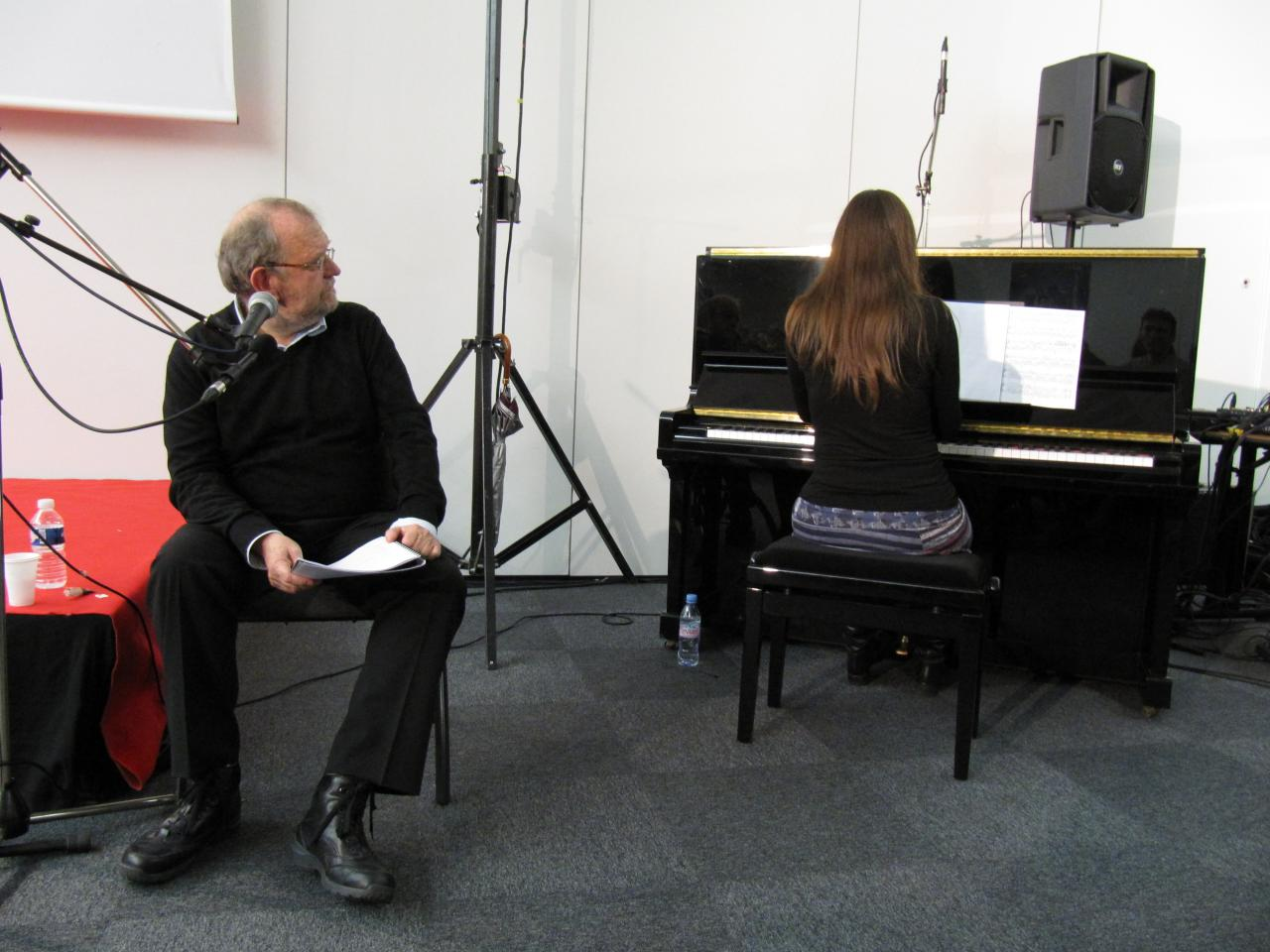 Les pas de l'ombre, Salon du Livre de Toulouse, novembre 2011